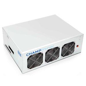 CHAMPminer G250 Angle
